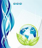 Environment Earth Businees Card