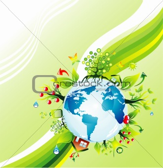 Environmetal concept Background