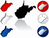 State of West Virginia Icons