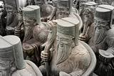 Group of Chinese Stone God