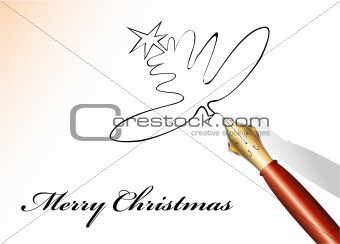 Gold and Iron Fountain pen