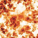 Fiery blast