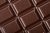 dark chocolate block background