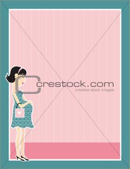 Pregnant Woman Border