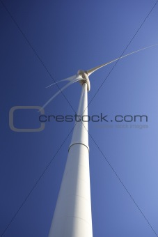 a wind turbine producing green energy