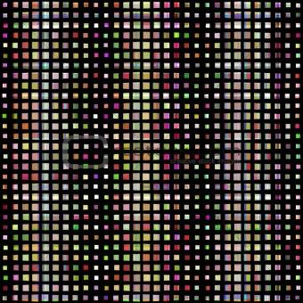 colored blocks pattern