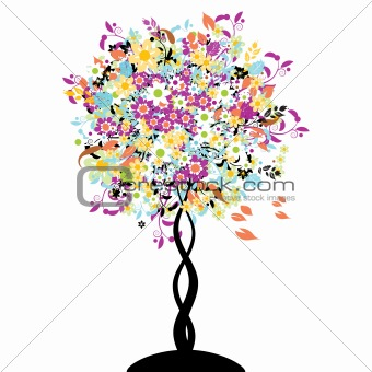 Bautiful floral tree