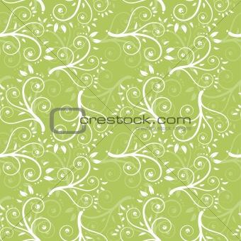 Foliage seamless background