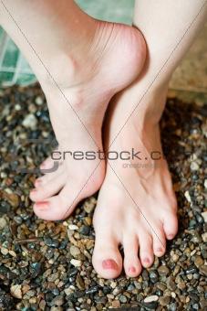 beautifull woman's feet