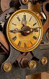 Old grunge clock