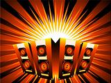 Music burst