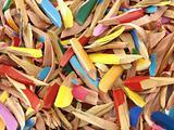 pencils' shavings