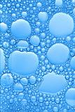 big and small blue bubbles