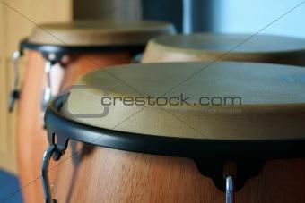 three old bongos