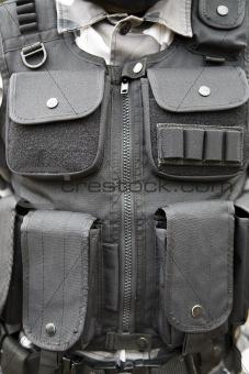 black S.W.A.T vest