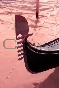 Gondola Tail, Venice, Italy
