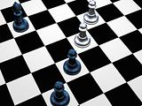 The Chess gambit.