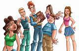 teens get together