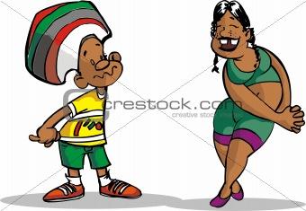 a couple brazilian