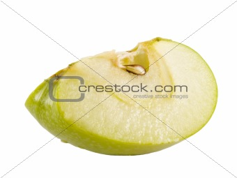 green apple wedge