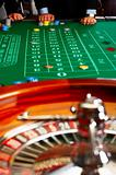 Casino table.