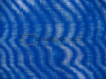 """""""Abstract: Textural"""": Blue Wavy Textile Background"""