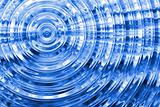 Abstract rippled background