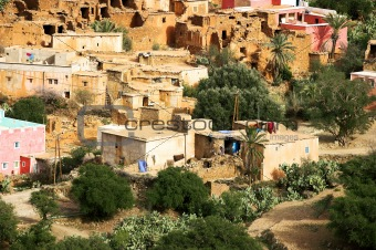 Old village in Morocco