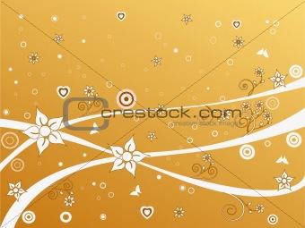 Floral Background - vector