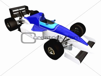 F1 blue racing car vol 3