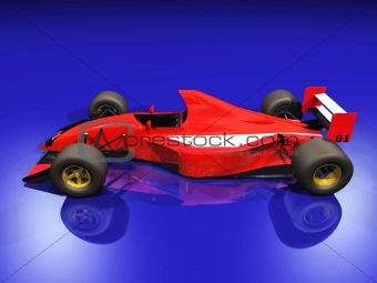 F1 red racing car vol 2