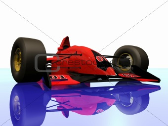 F1 red racing car vol 3