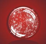 Christmas Glossy snow globe