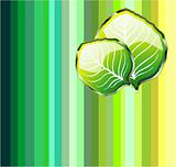 Go Green Leaf Background
