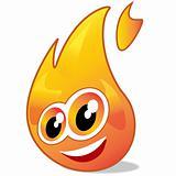 fire mascotte