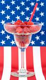 Patriotic Raspberry Margarita