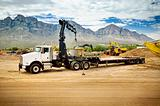 Truck Crane Trench Shoring