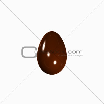 3d chocolate egg