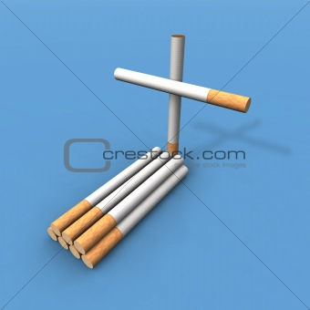 cigarette grave