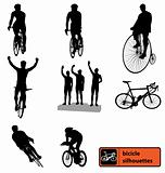 bike silhouettes collection
