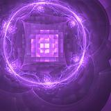 Abstract background. Purple - white palette.