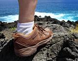 Hiker foot