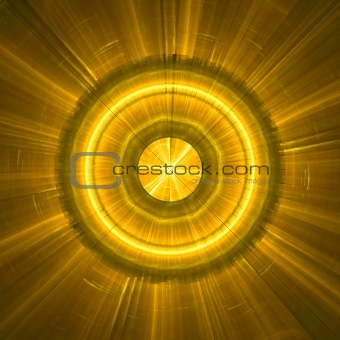 Abstract background. Gold - yellow palette.