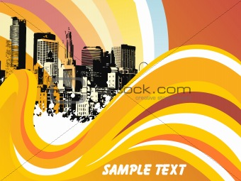abstract background with place for text, design27