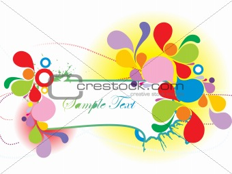 abstract background with place for text; design36
