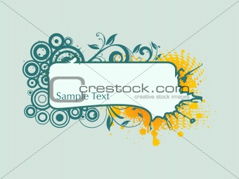 abstract funky vector background for text6