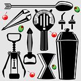Bar tools in vector