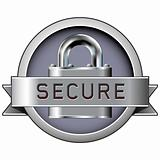Secure badge for web and print