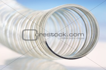 Abstract of Steel Spring Toy