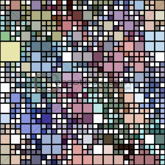pastel colored blocks pattern